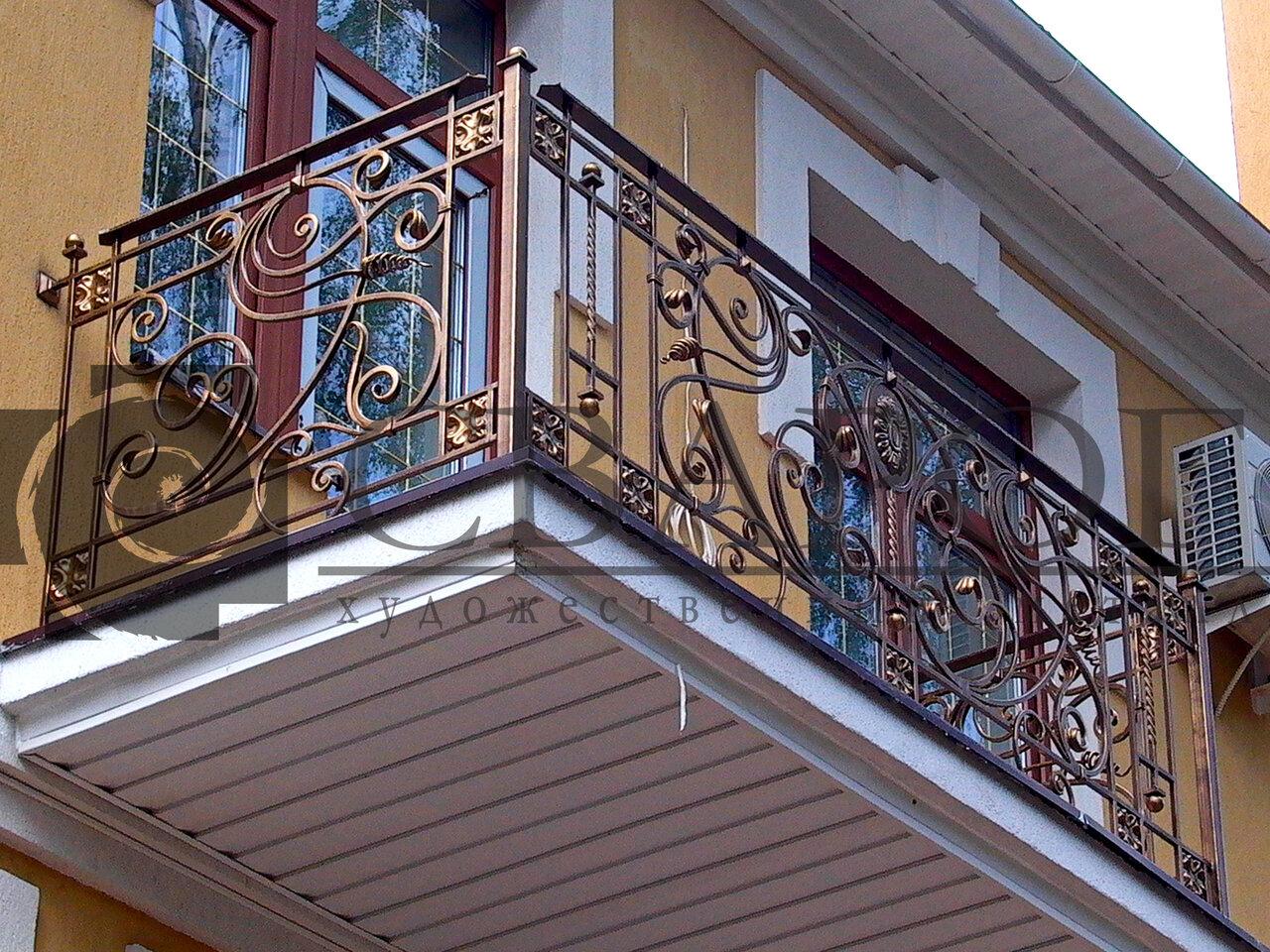 кованые ограждения для перил балконов фото ресторанным