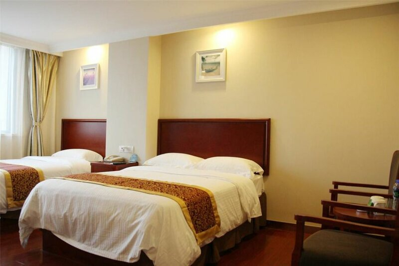 GreenTree Inn AnHui Maanshan Dangtu High Speed Railway East Station RT-Market Business Hotel