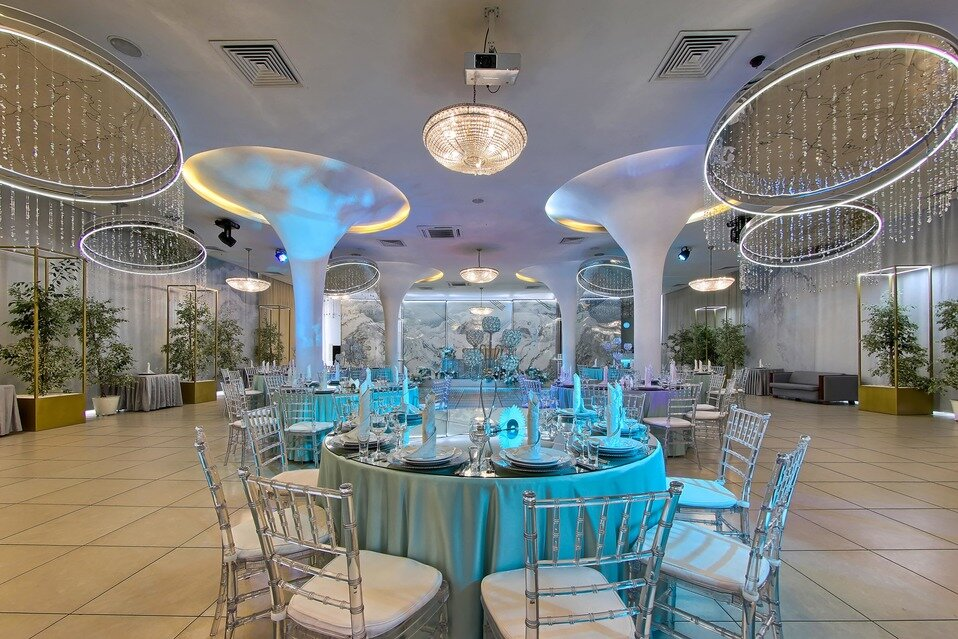 банкетный зал — Банкетный ресторан Небесный — Санкт-Петербург, фото №9