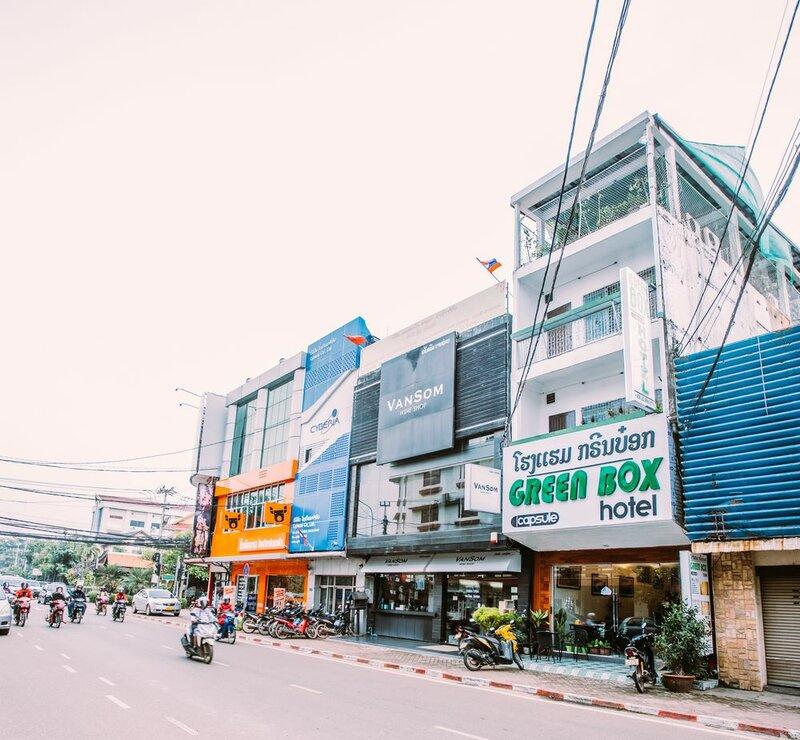 Green Box Hotel - Hostel