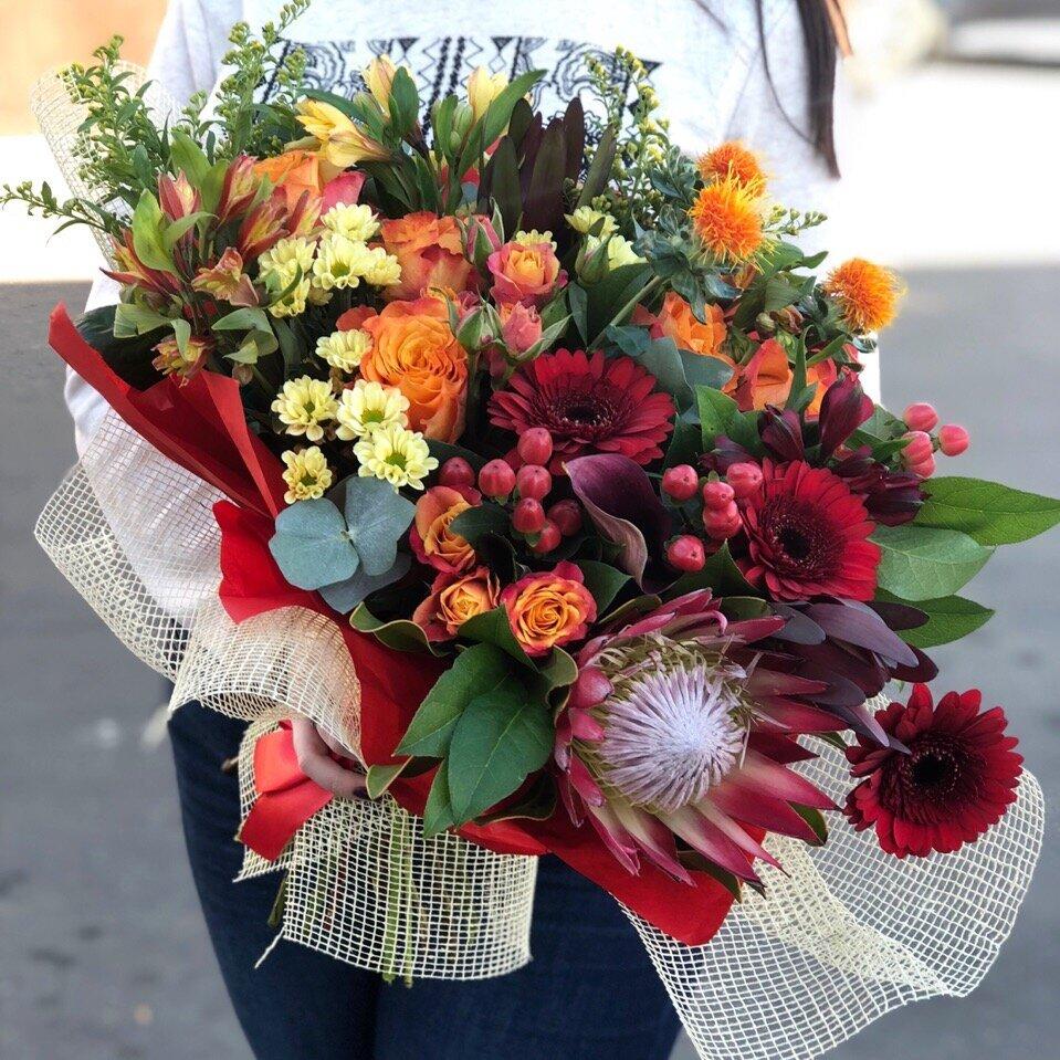 Купить цветы каширская, свадебный