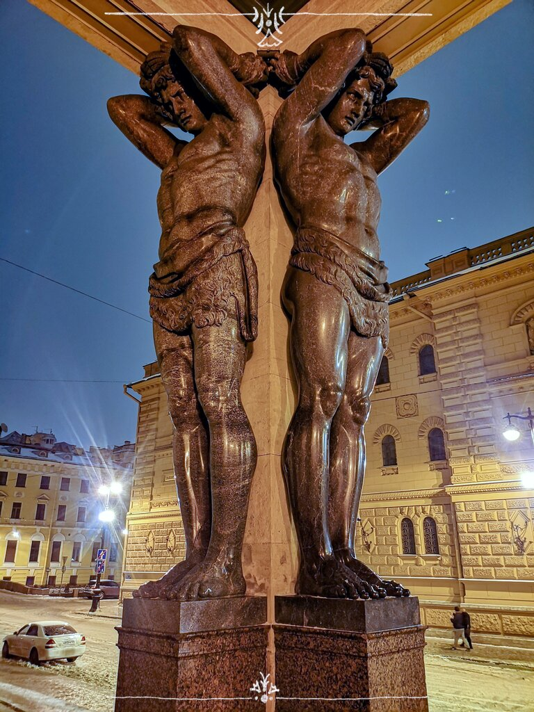 фото памятников атлантов в спб использовать