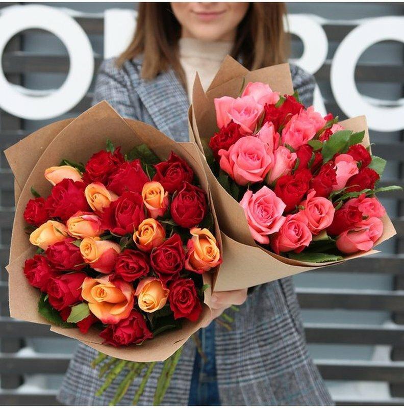 Букет доставка, заказ 55 роз набережные челны