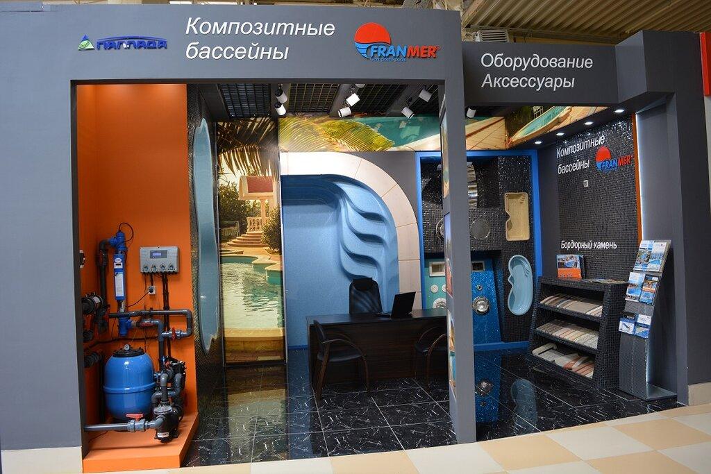 строительство и монтаж бассейнов, аквапарков — Паллада-Франмер — Москва, фото №5