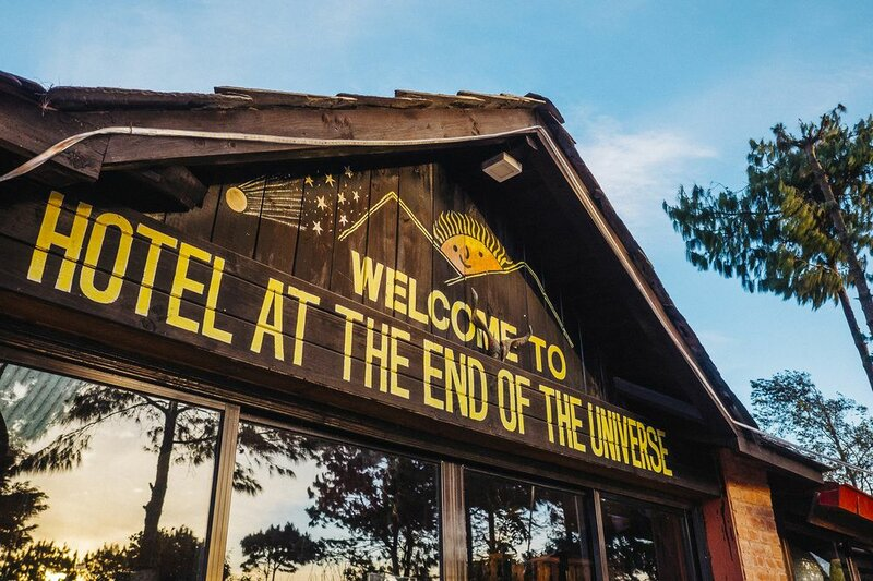 Hotel at the End of the Universe