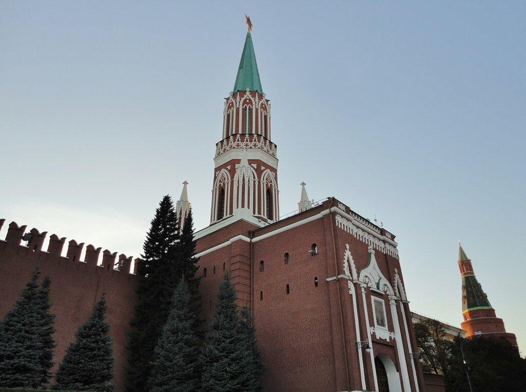 достопримечательность — Никольская башня — Москва, фото №4