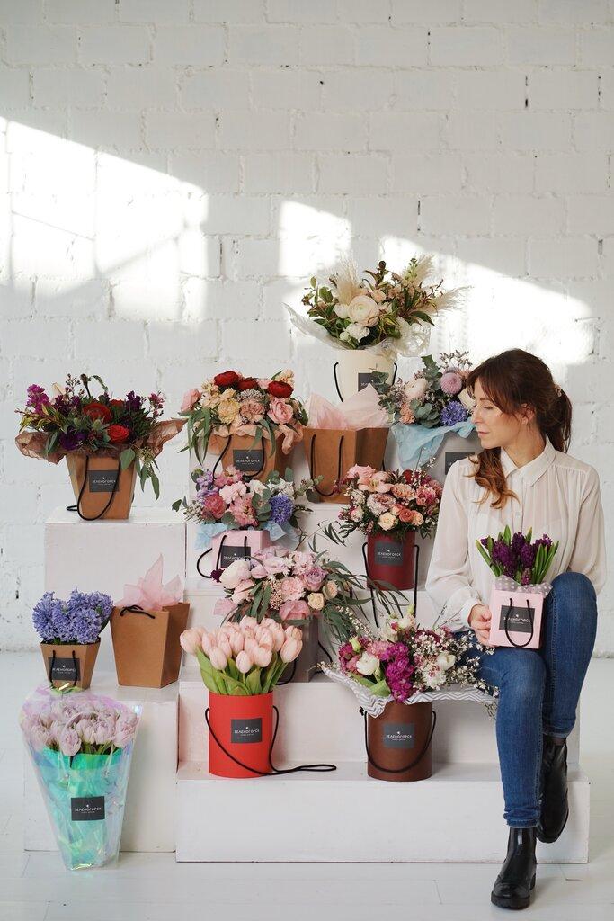 Букеты астры, 111 магазин цветов