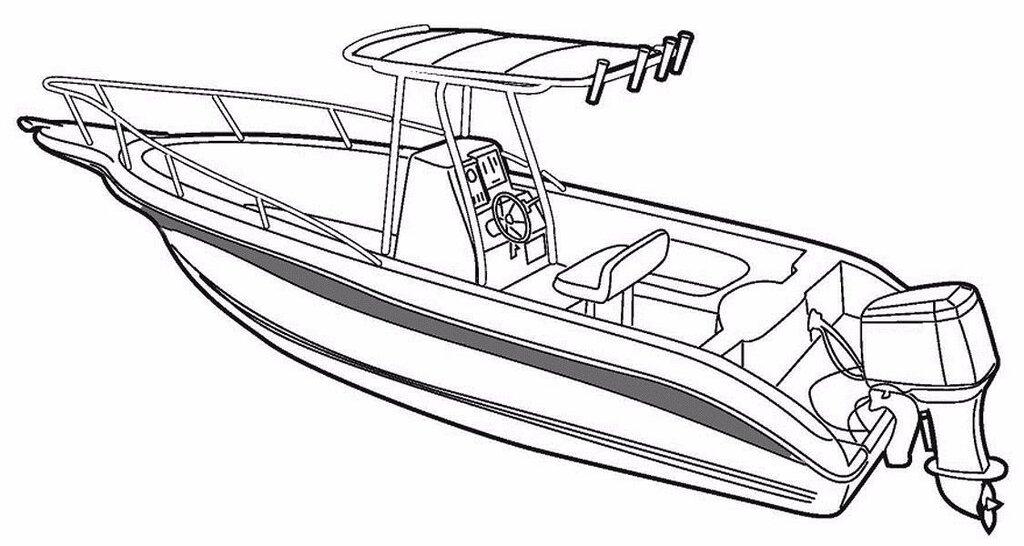 Картинка моторной лодки для детей