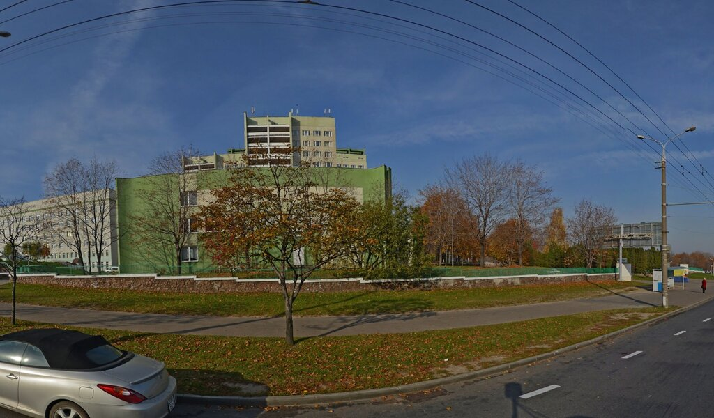 Панорама швидка медична допомога — Больница скорой помощи 1-е неврологическое отделение — Минск, фото №1