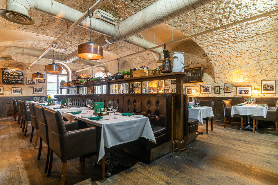 restaurant — Stroganov Steyk Khaus — Saint Petersburg, фото №3