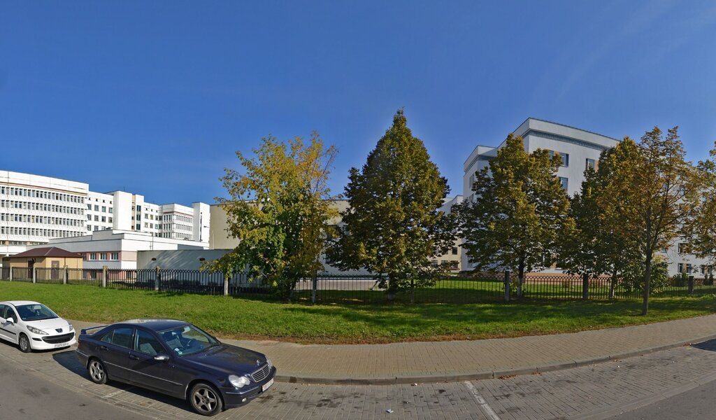 Панорама лікарня для дорослих — ГКБ № 1, корпус гемодиализа — Минск, фото №1