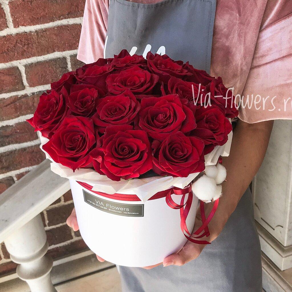 Доставка цветов саратовская область красных партизан, настольные роз фото