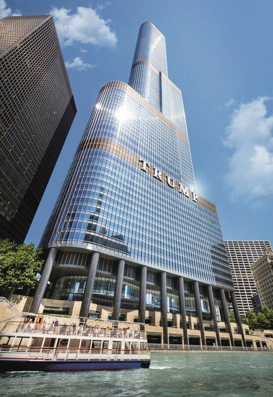 Международный отель и башня Трампа - Чикаго