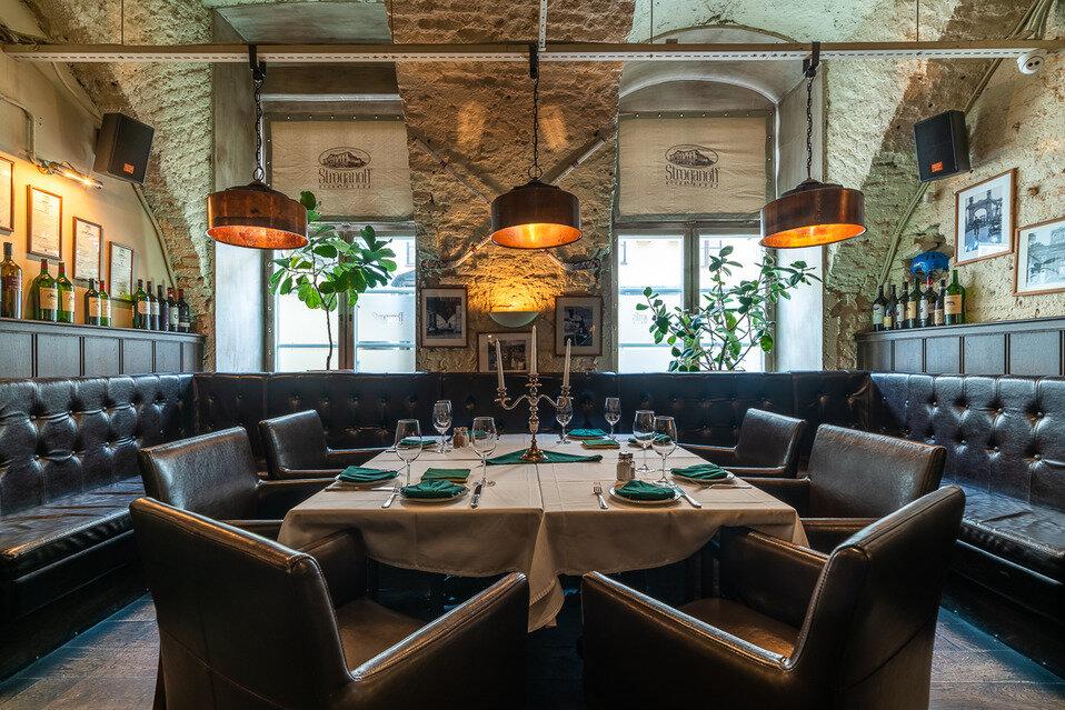 restaurant — Stroganov Steyk Khaus — Saint Petersburg, фото №4