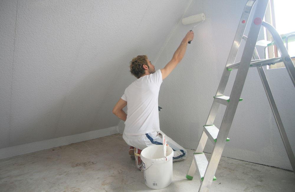 чем красят гипсокартонные стены