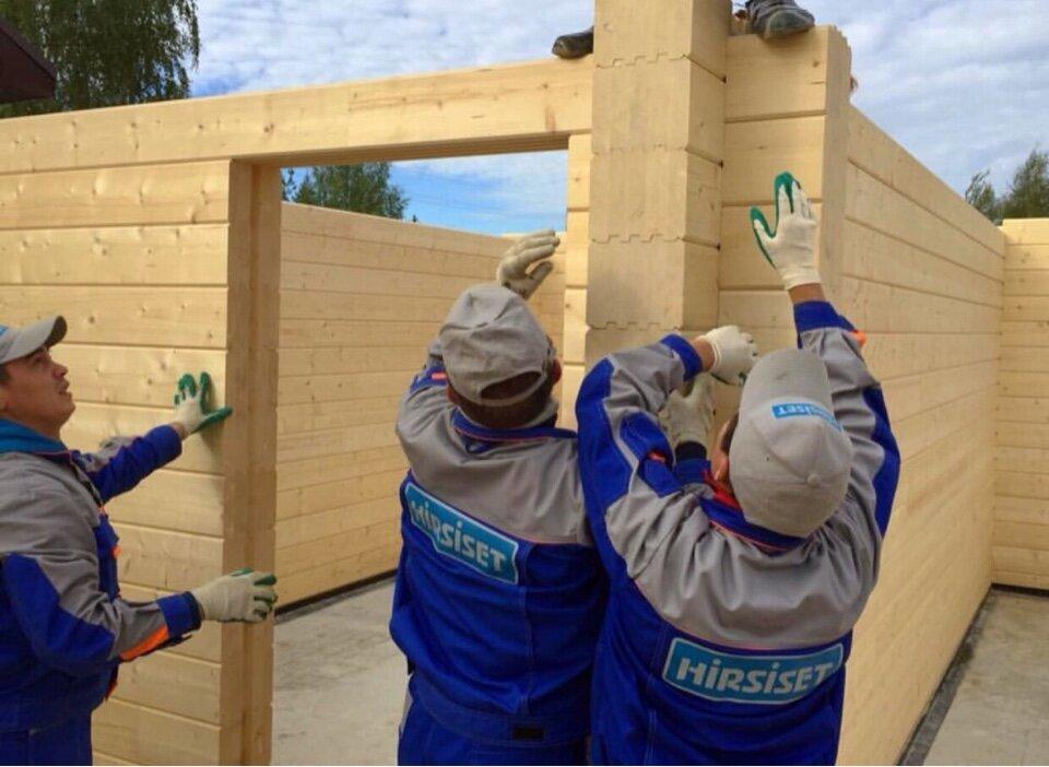 строительная компания — Hirsiset — Долгопрудный, фото №1