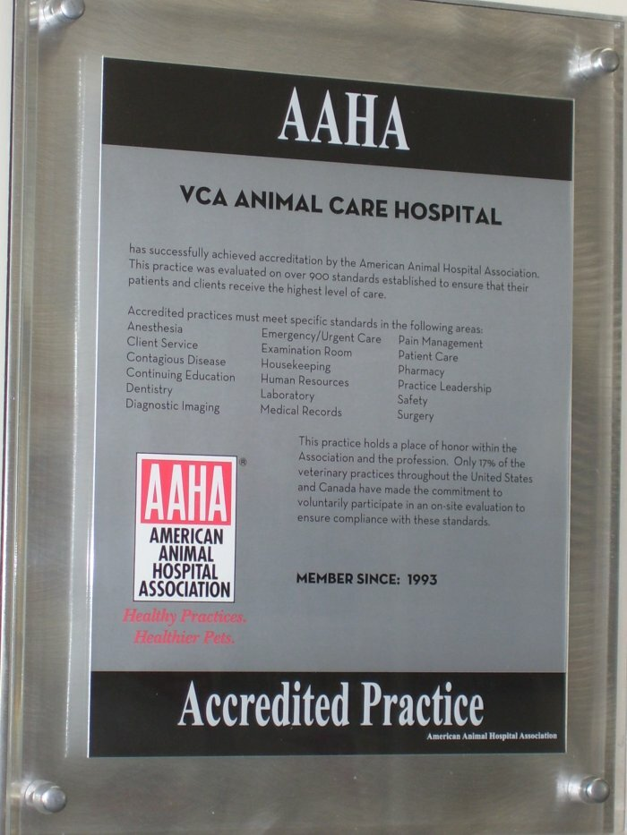 Vca Animal Care Hospital, ветеринарная клиника, Соединённые