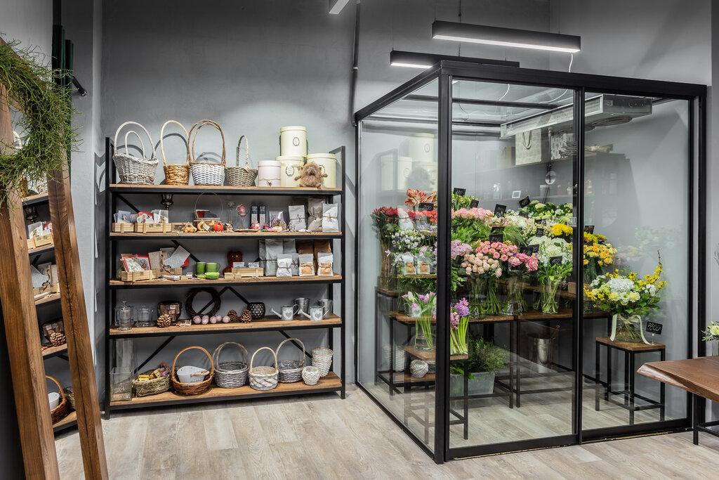 Фото стильных салон цветов