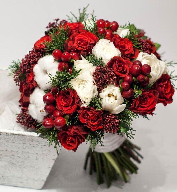 Доставка зимних цветов краснодар