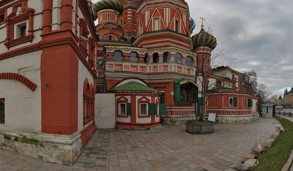 Панорама православный храм — Троицкая церковь — Москва, фото №1