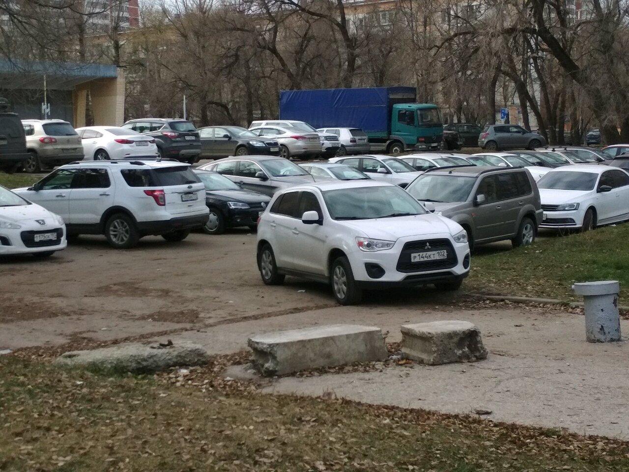 Автостоянка на улице шеногина фото