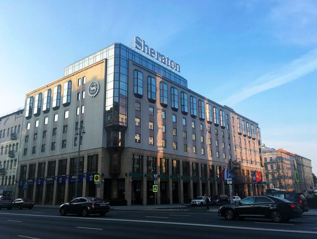 гостиница — Sheraton Palace Hotel — Москва, фото №1