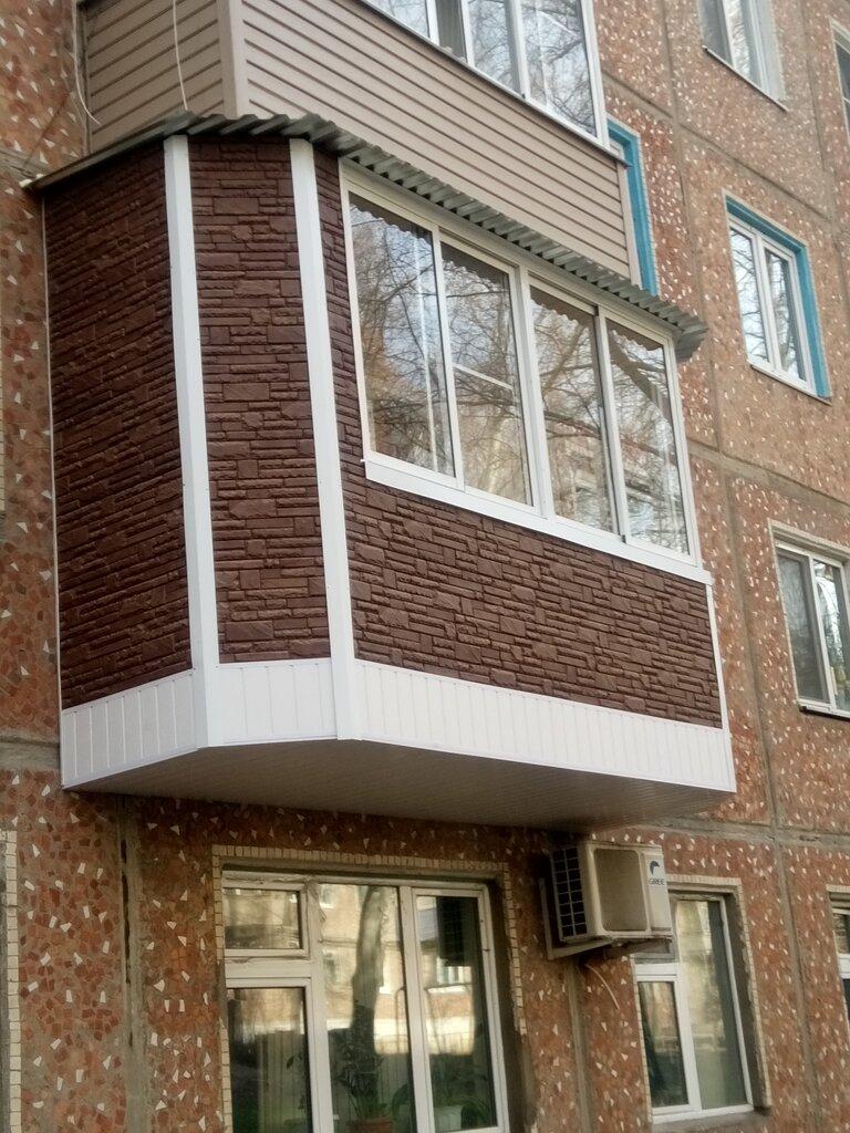 балконы в туле фото