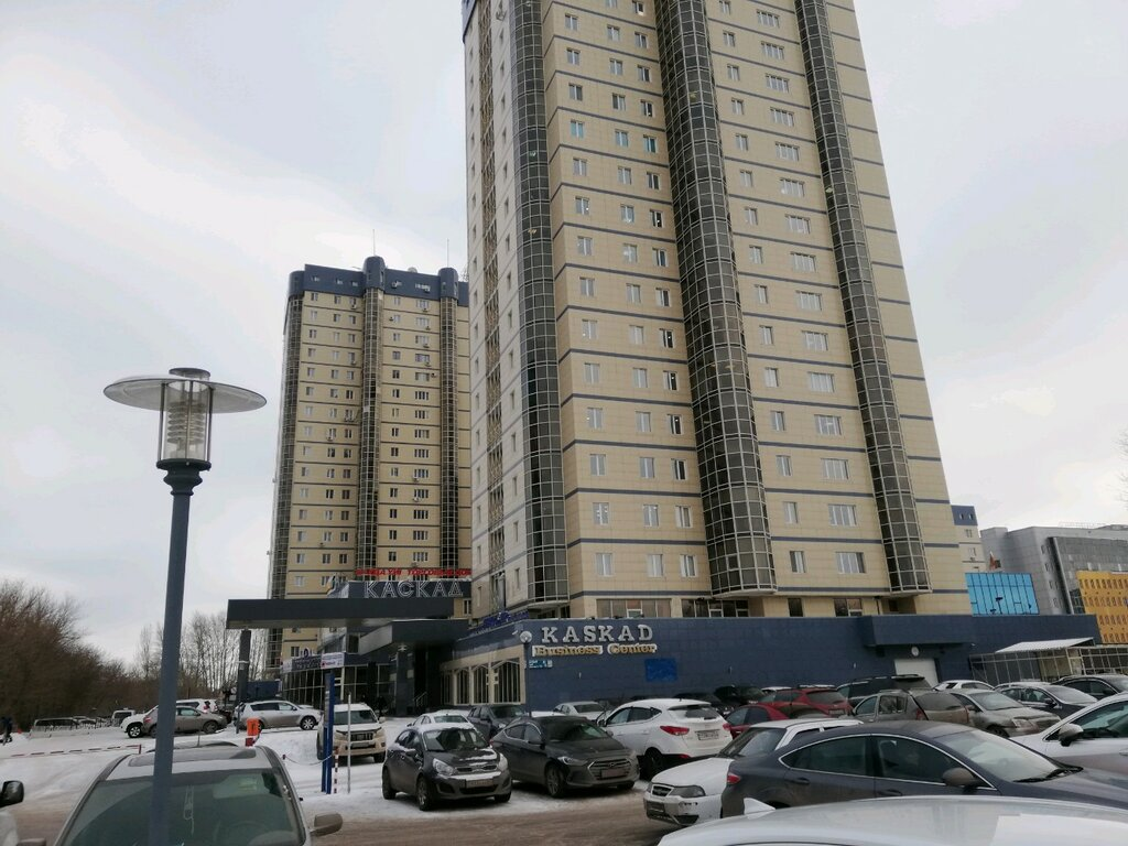 бізнес-центр — Бизнес-центр Каскад — Нур-Султан (Астана), фото №1