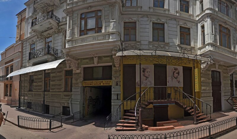 Beautiful apartment with history 34 steps to Derebasivska