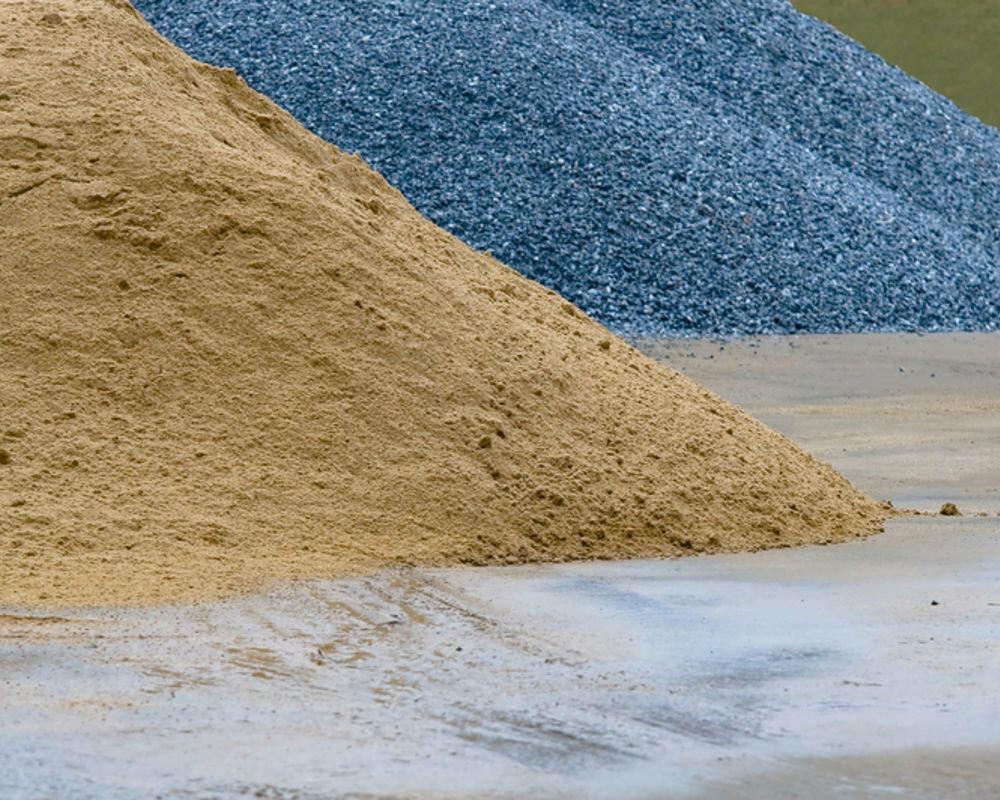 какой материал относится к песку