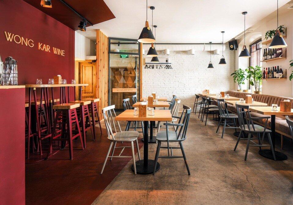 restaurant — Wong Kar Wine — Saint Petersburg, фото №2