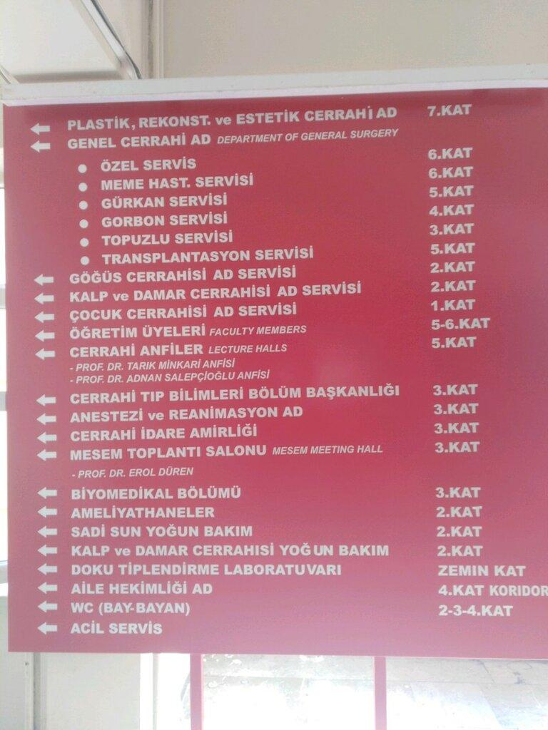 poliklinikler — İstanbul Üniversitesi Cerrahpaşa Tıp Fakültesi Plastik ve Rekonstrüktif Cerrahi Servisi — Fatih, photo 2