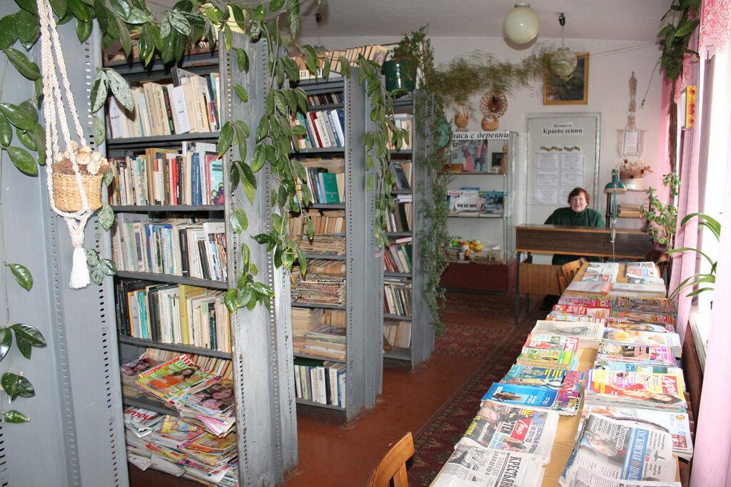 Сельская библиотека картинка