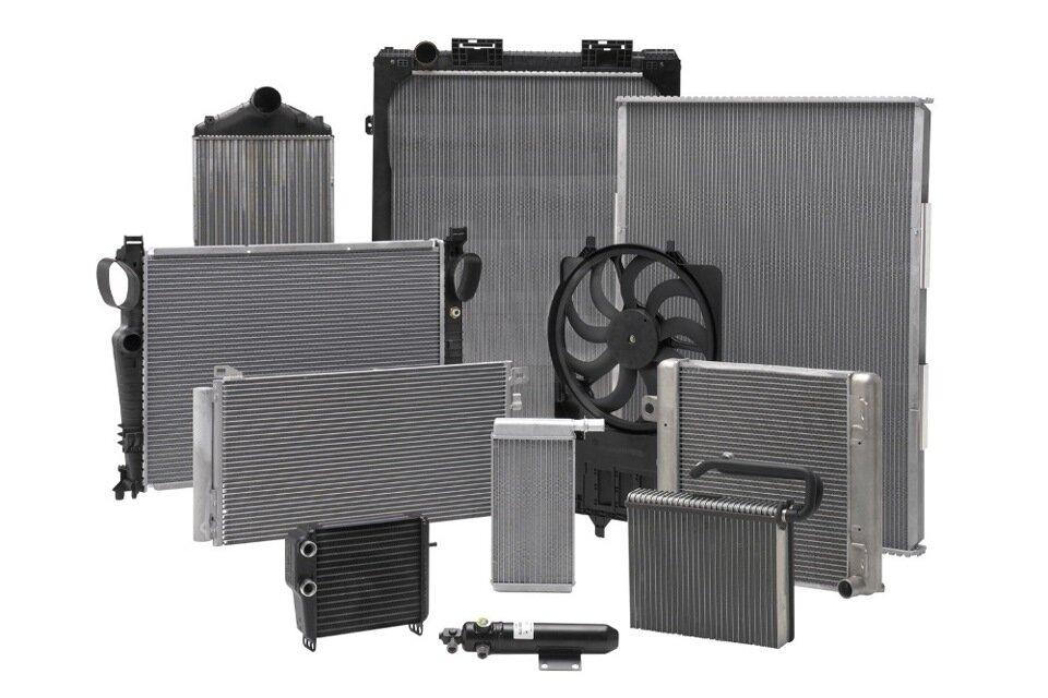 фото автомобильных радиаторов поверхностное