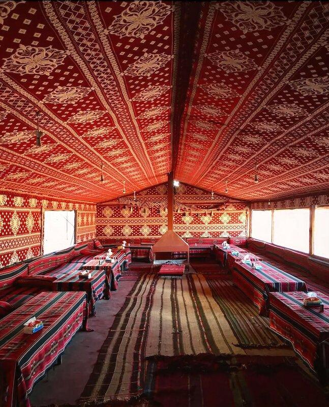 Wadi rum Desert Bedouin Life