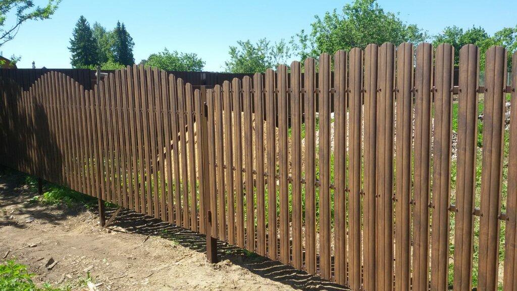 металлические заборы и ограждения — Дачный Забор — Люберцы, фото №2