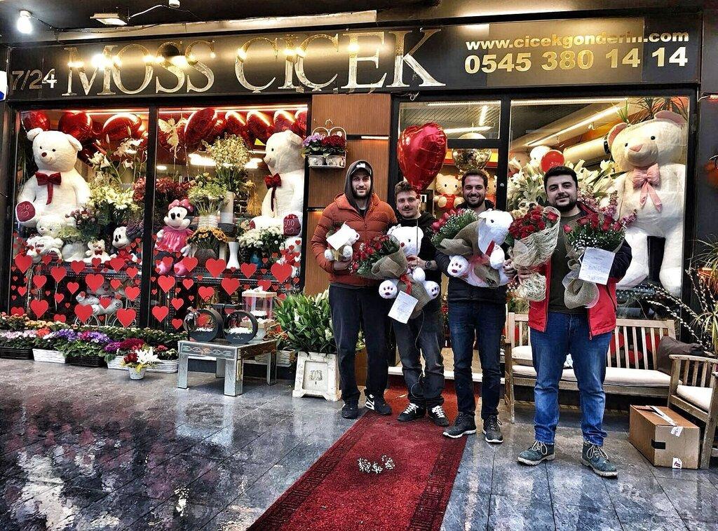 Доставка цветов стамбул, роз