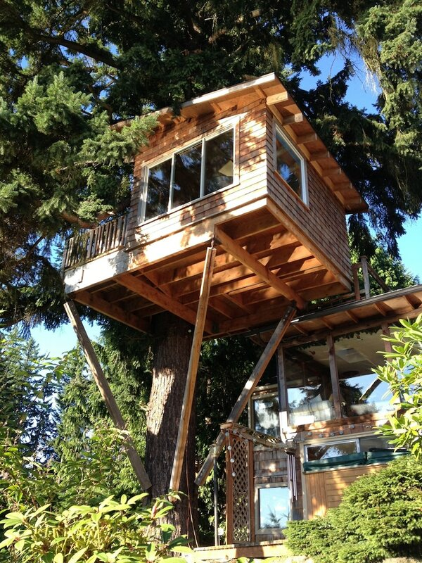 Cottage Lake Tree House Bed and Breakfast