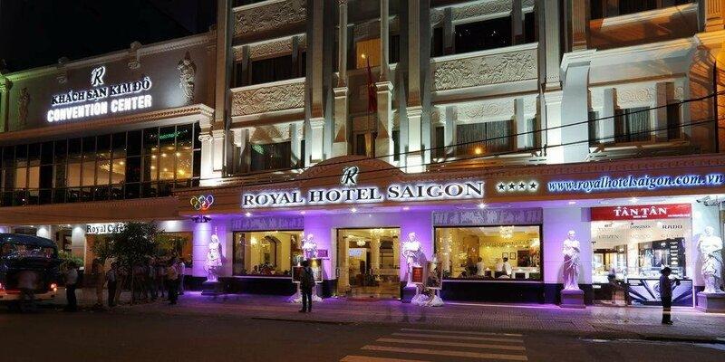 Отель Golden Central Saigon