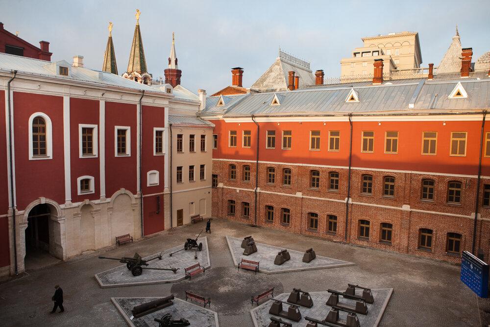 музей — Государственный исторический музей, Артиллерийский двор — Москва, фото №2