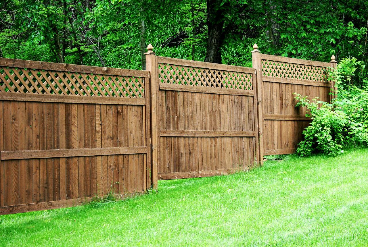 Забор дачи в картинках