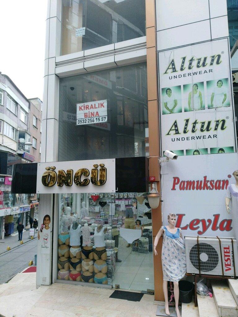 i̇ç çamaşırı ve mayo mağazası — Öncü Pamuksan — Fatih, foto №%ccount%