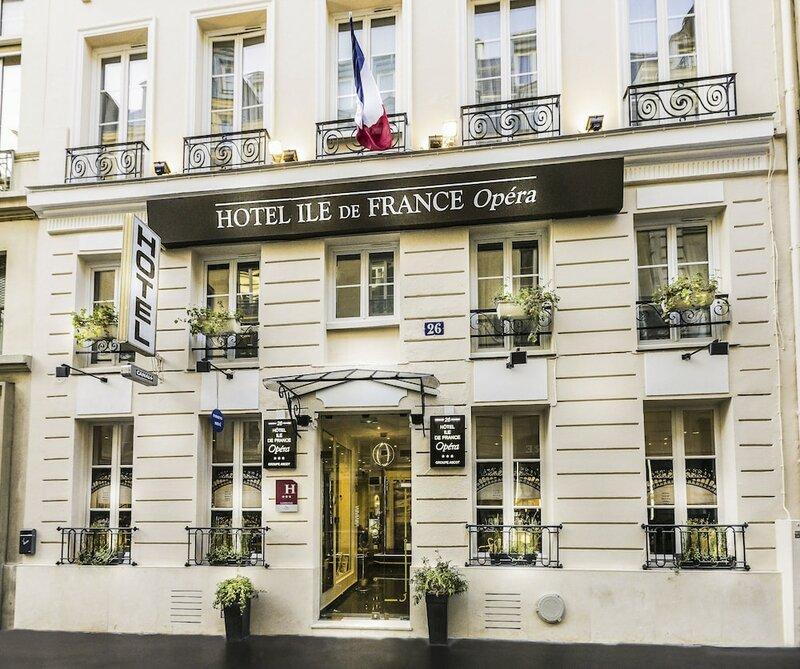 Hotel Ile de France Opéra