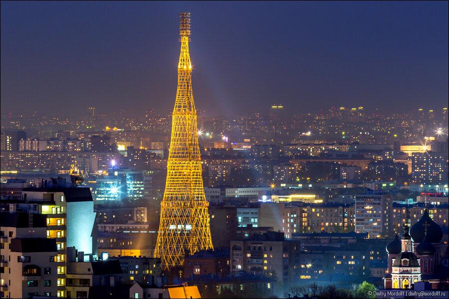 достопримечательность — Шуховская башня — Москва, фото №3