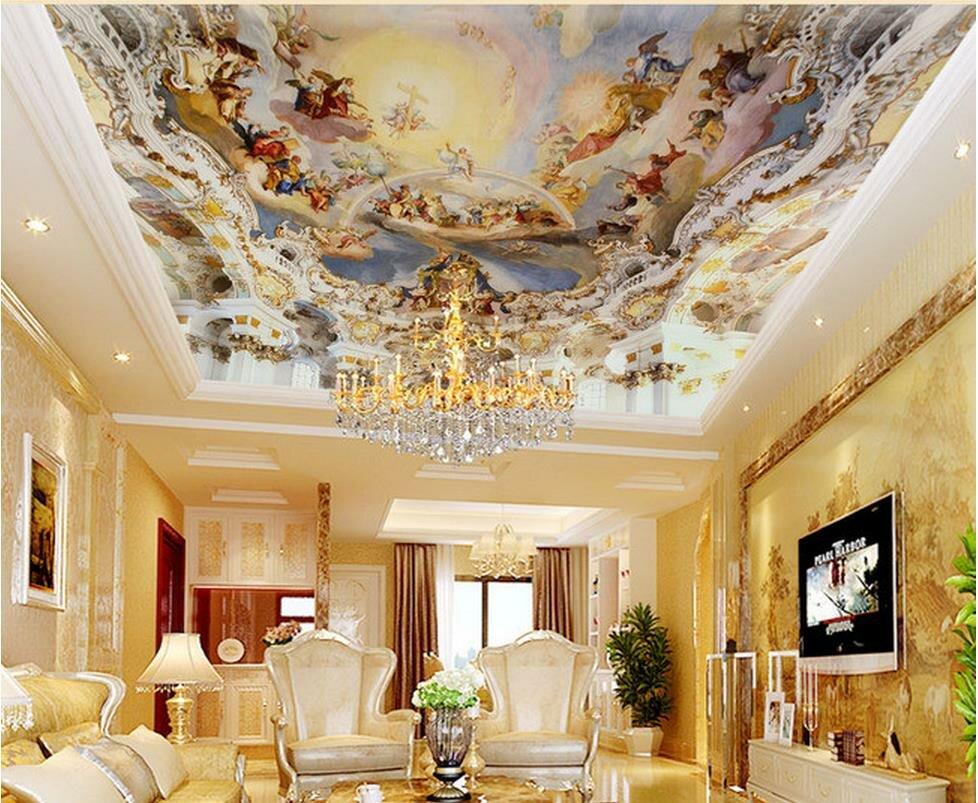 классический натяжной потолок картинки фото хотя пытался
