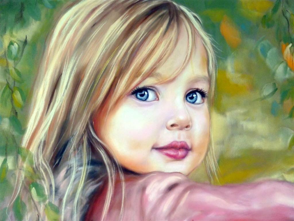 Картинки красивые для детей нарисованные