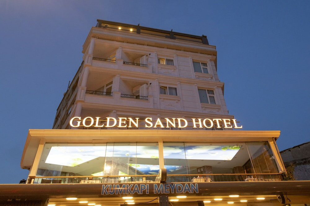 otel — Golden Sand Hotel — Fatih, photo 1