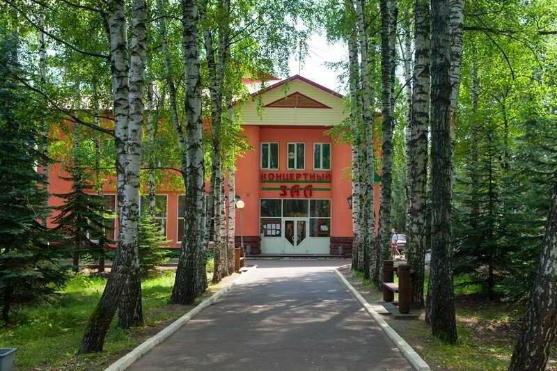 российских картинки санатория соснового бора стройные