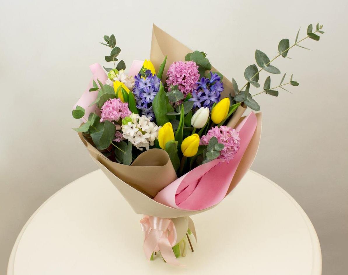 Доставка цветов тельмана