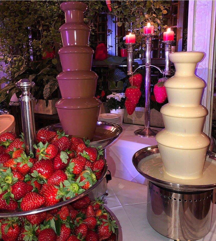 уже шоколадные фонтаны как оформить фото самых красивых растений